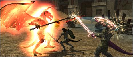 Screenshot from Everquest II, Sony Online Entertainment
