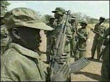 Boy soldiers in Sudan (File)