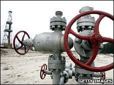 Solokhiv gas-field near the Ukrainian city Poltava, some 330 km east of capital, Kiev