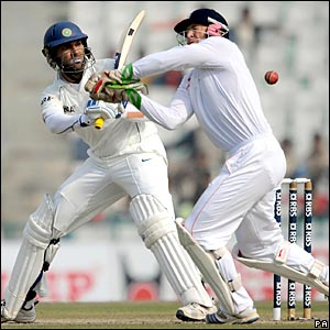 Yuvraj Singh and Matt Prior