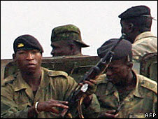 Guinean troops (January 2007)