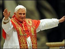 Pope Benedict XVI (file image)