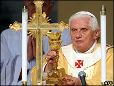 Pope Benedict XVI (file image)
