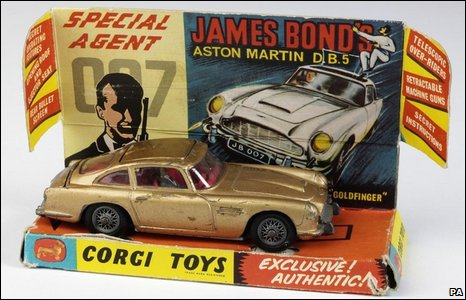 BBC NEWS | In Pictures | In Pictures: Vintage toys