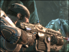 Screenshot from Gears of War 2, Microsoft