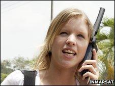 Inmarsat sat phone