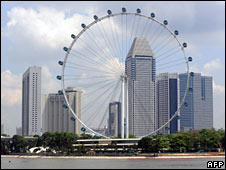 Singapore Flyer (file pic)