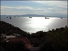 Straits of Salamis