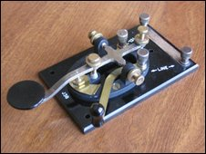 Morse 'straight key'