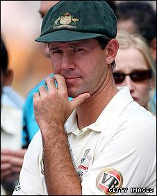 Australia skipper Ricky Ponting