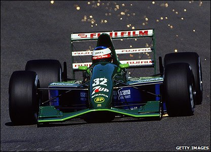 Michael Schumacher makes his Grand Prix debut for Jordan at Spa in 1991
