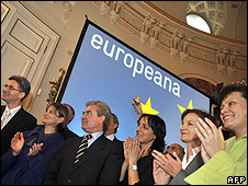 Europeana launch ceremony, 20 Nov 08