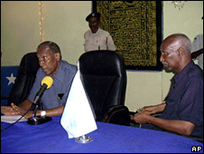 Abdullahi Yusuf and Mohamed Mahamud Guled (16 December 2008)