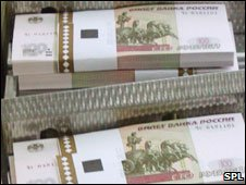 Rouble notes