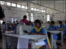 Indian textile workers