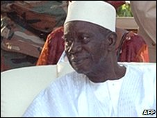 Lansana Conte in June 2007