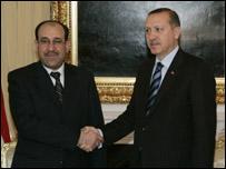 اردوغان والمالكي
