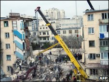Yevpatoria building collapse
