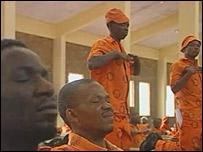 Presos en la Prisión de Máxima Seguridad de Groenpunt
