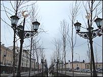 Проспект Путина в Грозном