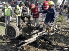 Bomb blast in Lahore, 24 Dec