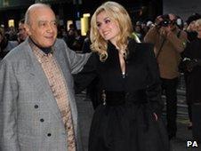 Katherine Jenkins and Mohamed Al Fayed