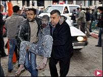 ارتفاع حصيلة الغارات الاسرائيلية في غزة الي 225 شهيد و 700 جريح