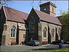 St Helier parish church
