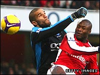 David James and William Gallas