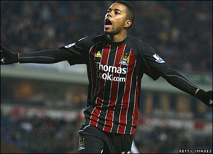 Robinho equalises in injury time