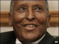Somali President Abdullahi Yusuf