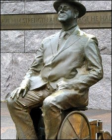 Franklin Delano Roosevelt Memorial in Washington, DC