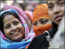 Voters in Bangladesh