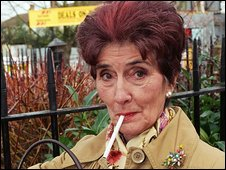 EastEnders' Dot Cotton played by June Brown
