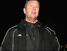 Droylsden boss Dave Pace