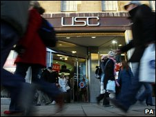 USC shop in Edinburgh