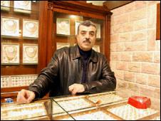 Isam Moharib, Ramallah jewellery shop