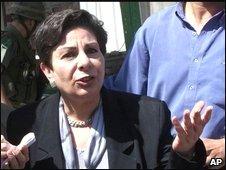 Hanan Ashrawi, 21 March 2001