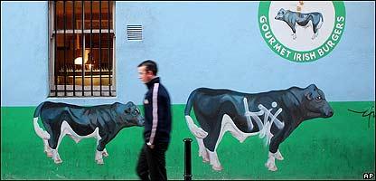 Calle en Dublín, Irlanda