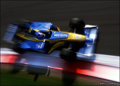 Jarno Trulli drives to fourth place in the 2002 Italian Grand Prix