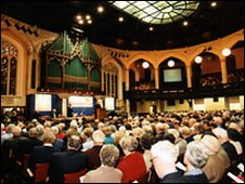 Church House's 1300-seater assembly hall