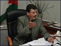 Fares Qadura, uno de los líderes de Fatah en Cisjordania