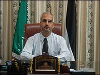 Fawzi Barhum, portavoz de Hamas en Gaza