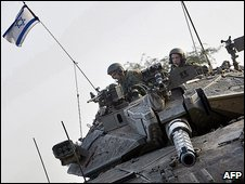Israel has assembled land troops on the boundary with Gaza