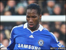 Ivory Coast and Chelsea striker Didier Drogba