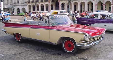 Geovani Perez's 1959 Buick convertible