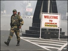 Indian soldier on border
