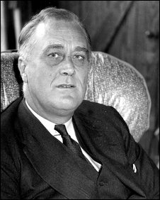 Franklin Delano Roosevelt in 1932