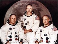 Astronautas de la misión Apolo 11 de 1969