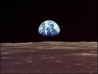 La tierra vista desde la Luna / Foto: NASA